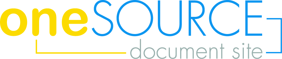 OneSOURCE Document Management logo